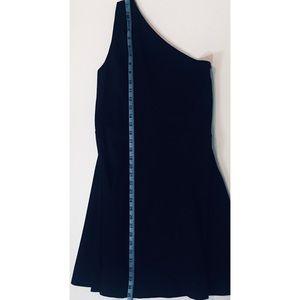 Love Ady One Shoulder Black Dress